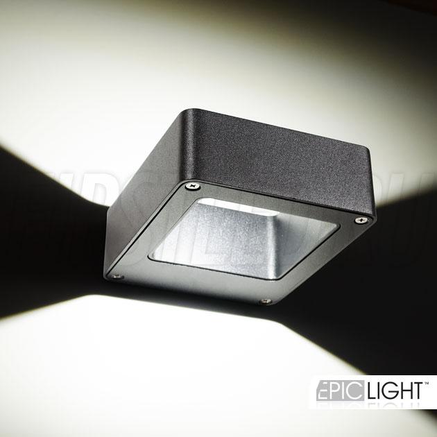 Настенный светодиодный светильник FRAMER применяется для освещения стен и колонн