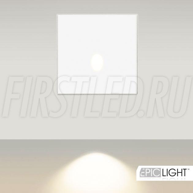 Встраиваемый в стену светодиодный светильник GAP S 3W (аналог STEP LIGHT EGG S)