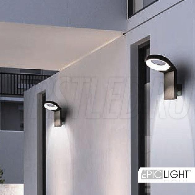 Светодиодный светильник NIMBUS идеально подойдет для подсветки входных групп коттеджей (степень защиты IP54)