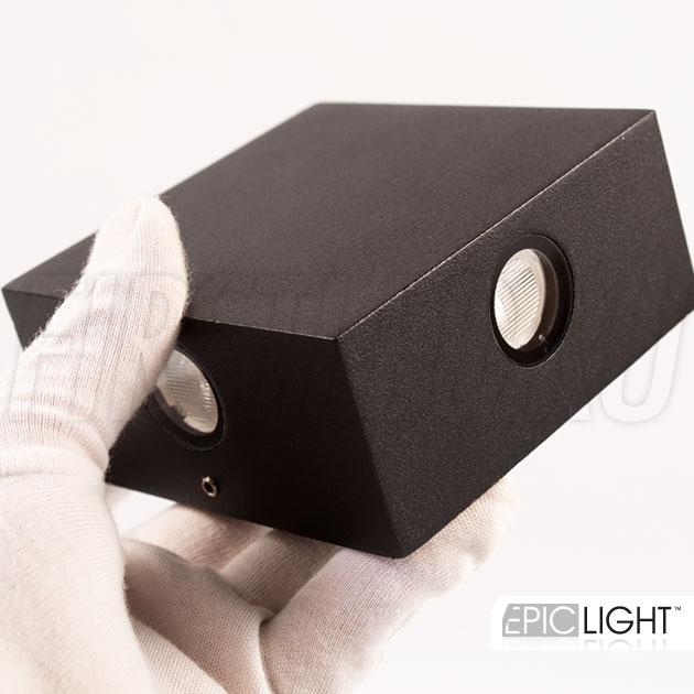 Настенный светодиодный светильник QUADRO RAY