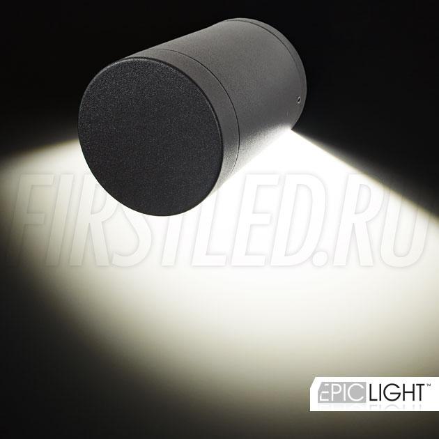 Мощный 7 Ватт настенный светодиодный светильник ROUNDER