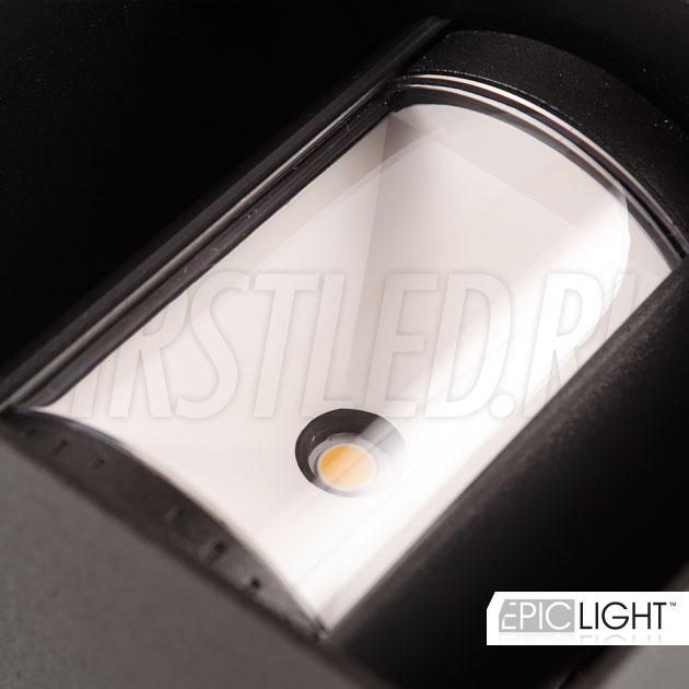 Изменить угол света настенного светодиодного светильника VARION просто — надо повернуть шторки