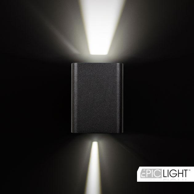 Настенный светодиодный светильник VARION с изменяемым углом света с двух сторон