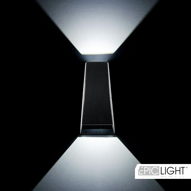WALL DOUBLERAY — это светодиодный светильник излучающий лучи света в две стороны