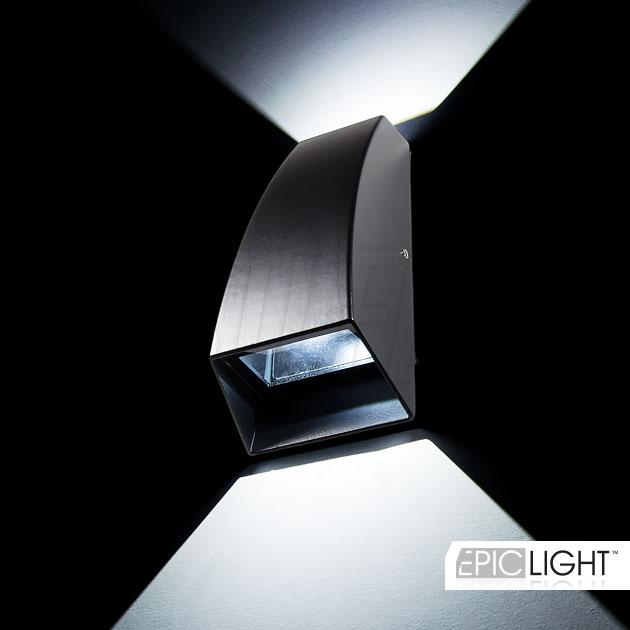 Светодиодный светильник WALL DOUBLERAY для фасадной или интерьерной подсветки стен