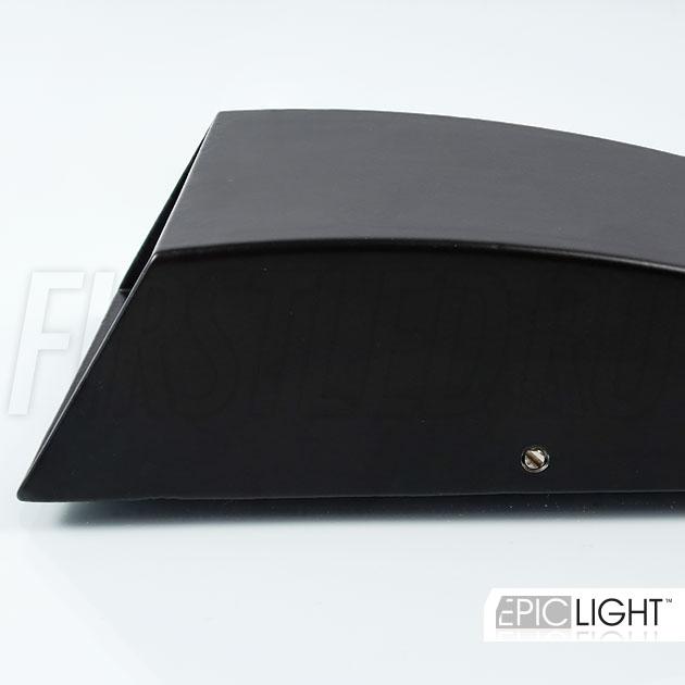 Красивый алюминиевый корпус светильника WALL DOUBLERAY