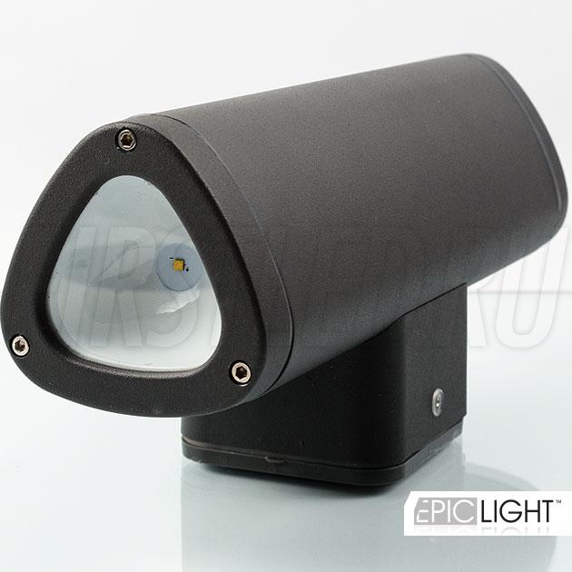 В светильник установлено два современных светодиода CREE производства США