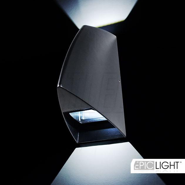 LED светильник WALL SHIPO притягивает взгляды благодаря своему необычному дизайну напоминающему нос огромного корабля