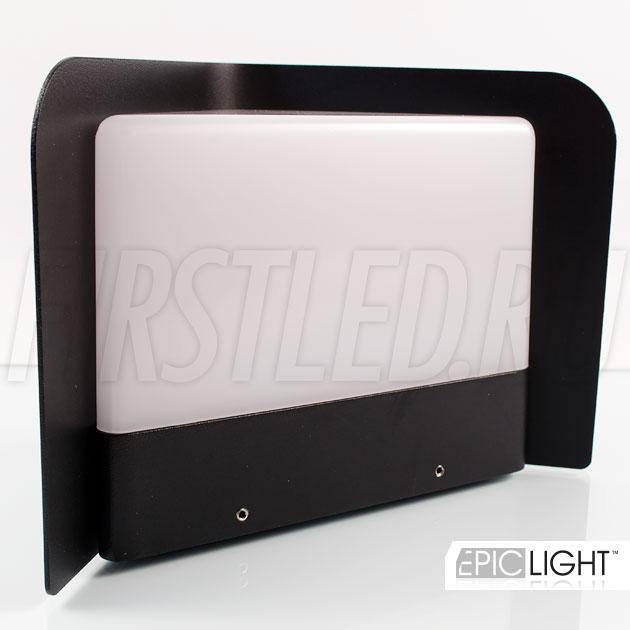 Настенный светодиодный светильник WALL TRIA для наружной подсветки стен