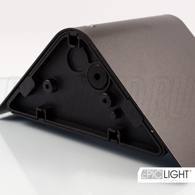 Настенный светодиодный светильник WALL TRIA вид сзади