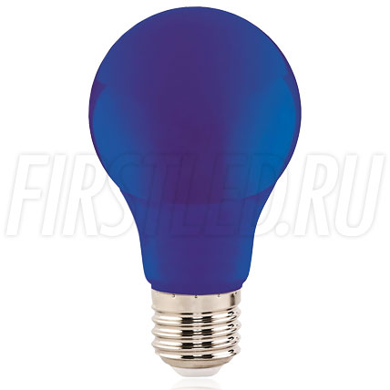 Светодиодная лампа A60 COLOR 3W (E27)