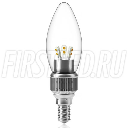 Диммируемая светодиодная лампа CANDLE 5W DIM (E14)