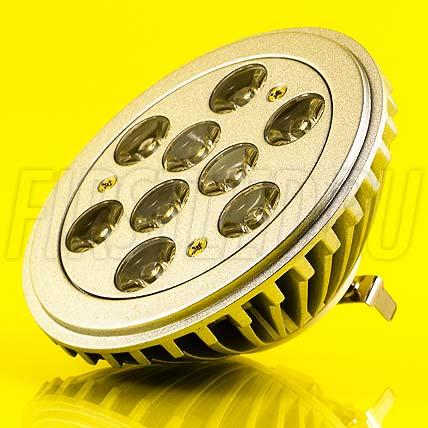 Светодиодная лампа CRIO 10W (12V) (AR111, G53)
