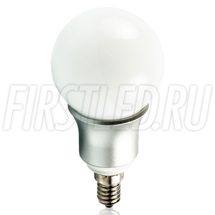Светодиодная лампа CRIO SPHERE MAT 6W (E14)