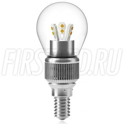Светодиодная лампа Sphere G45 6W (E14)