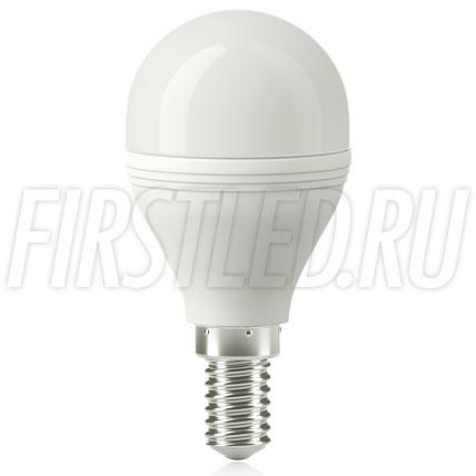 Диммируемая светодиодная лампа Sphere G45 5W DIM (E14)