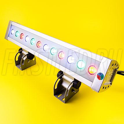 Многоцветный светодиодный DMX прожектор LWW-5-12P-L400
