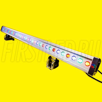Многоцветный светодиодный DMX прожектор LWW-5-36P-L1200