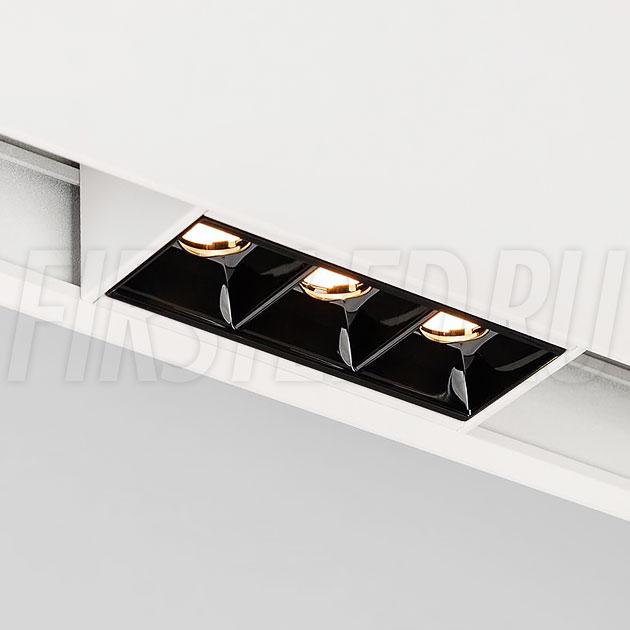 Магнитный трековый светильник MAGNETIC DOT W (INF SPOT LINE WH)