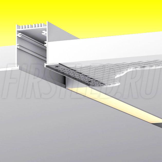 Встраиваемый безрамочный магнитный трек MAGNETIC TRACK F (аналог TRACK INFINITY)