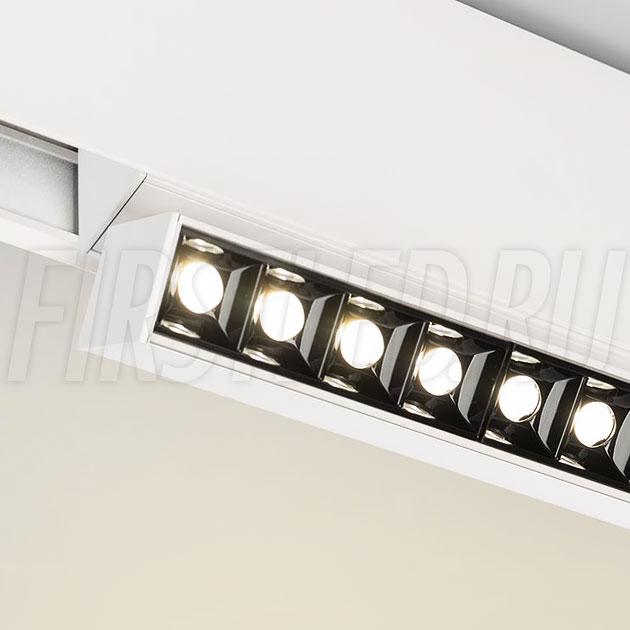 Магнитный трековый светильник MAGNETIC TURN DOT W (аналог INF TURN SPOT LINE WH)