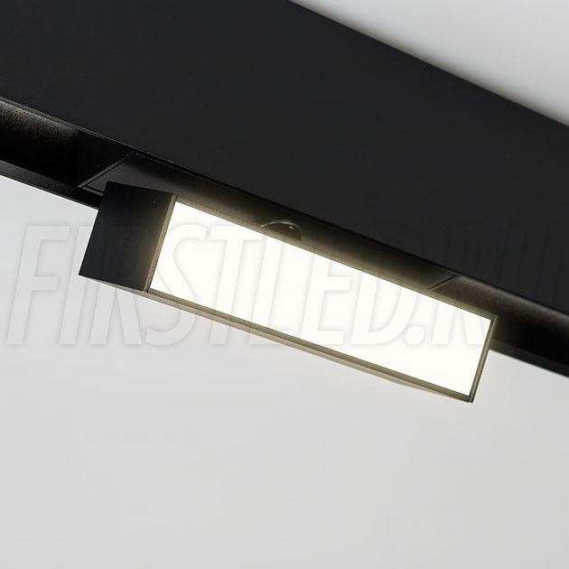 Магнитный трековый светильник MAGNETIC TURN LINE B (аналог INF TURN LINE)