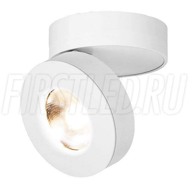 Накладной светодиодный светильник MONA R White 12W (ROTER C WH)