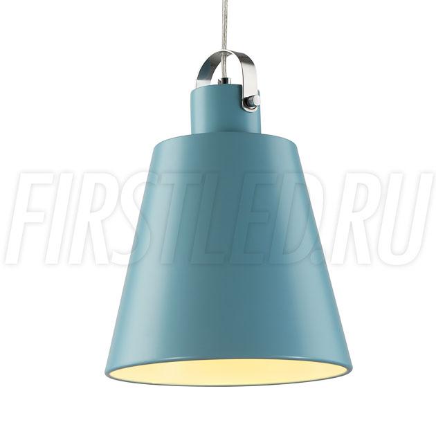 Подвесной светодиодный светильник PAIL (голубой)