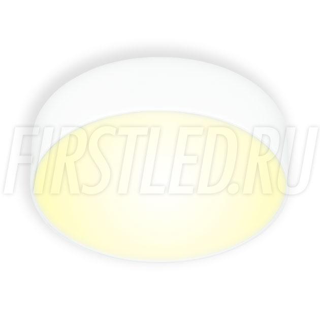 Накладной светодиодный светильник RONDOID 16W (белый корпус)
