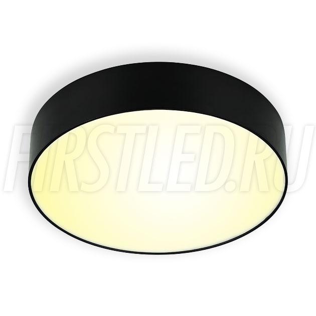 Накладной светодиодный светильник RONDOID 16W (черный корпус)
