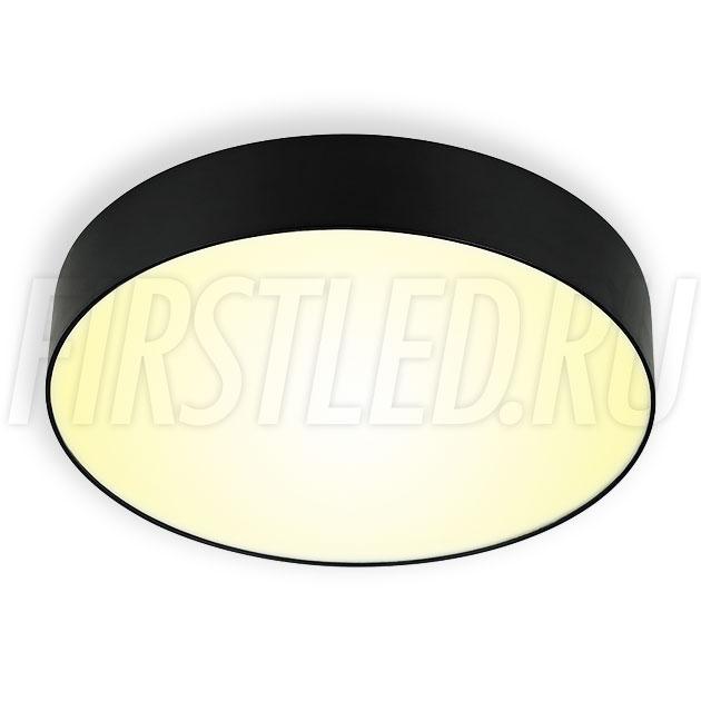 Накладной светодиодный светильник RONDOID 20W (черный корпус)