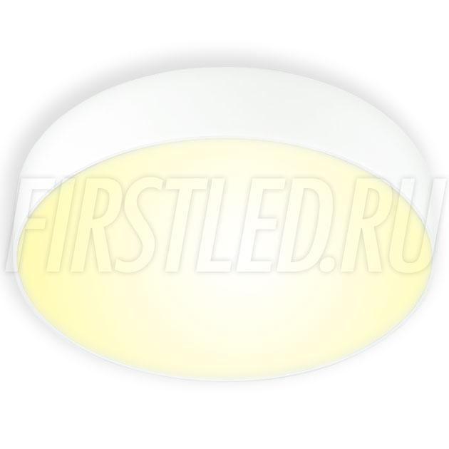Накладной светодиодный светильник RONDOID 30W (белый корпус)