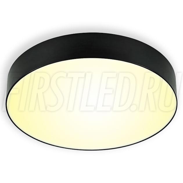 Накладной светодиодный светильник RONDOID 30W (черный корпус)