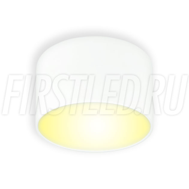 Накладной светодиодный светильник RONDOID DRUM 12W (белый корпус)