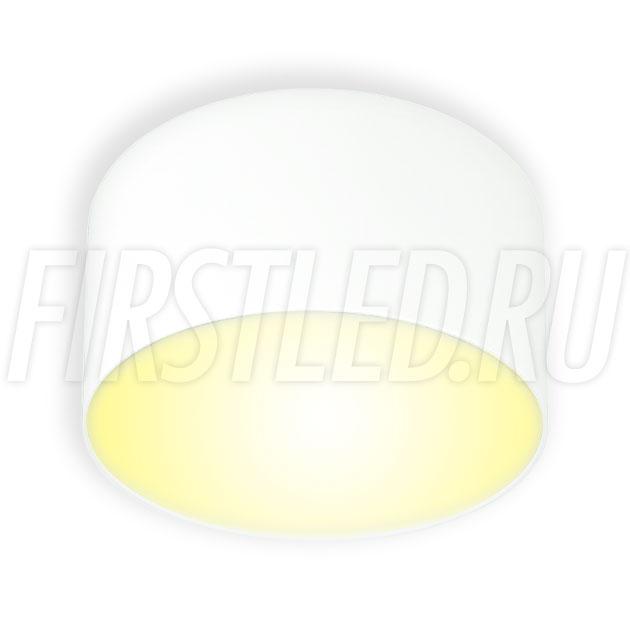 Накладной светодиодный светильник RONDOID DRUM 18W (белый корпус)