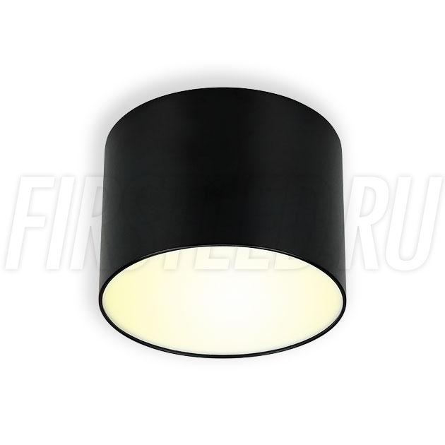 Накладной светодиодный светильник RONDOID DRUM 8W (черный корпус)