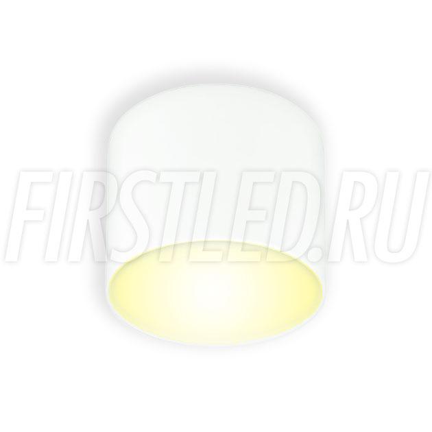 Накладной светодиодный светильник RONDOID DRUM 8W (белый корпус)