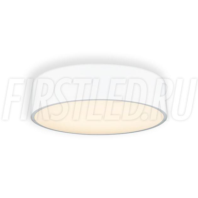 Потолочный накладной светодиодный светильник ROUND S 25W (белый корпус)