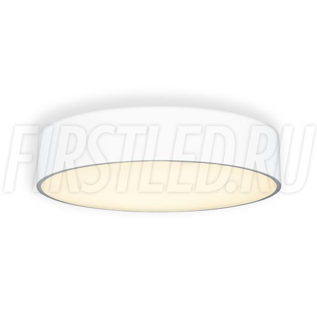 Потолочный накладной светодиодный светильник ROUND S 35W (белый корпус)