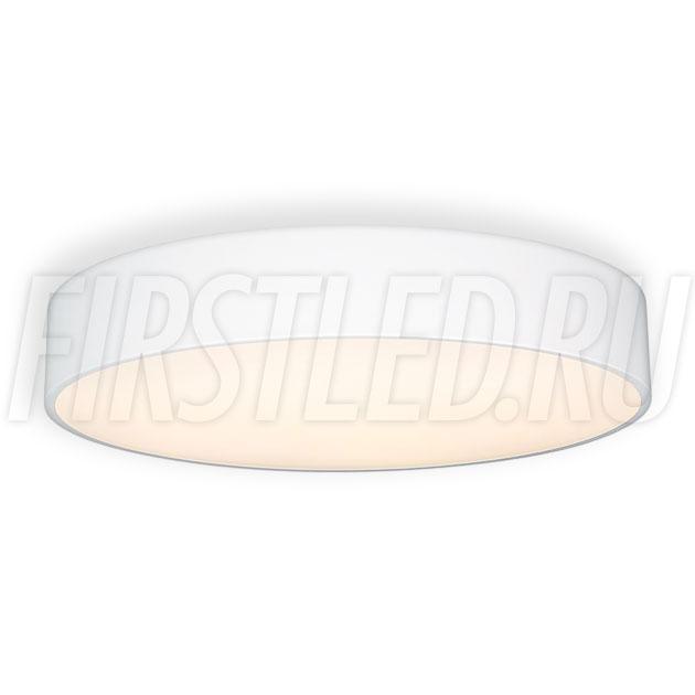 Потолочный накладной светодиодный светильник ROUND S 50W (белый корпус)