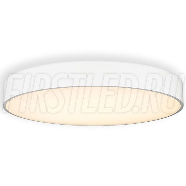 Потолочный накладной светодиодный светильник ROUND S 90W (белый корпус)