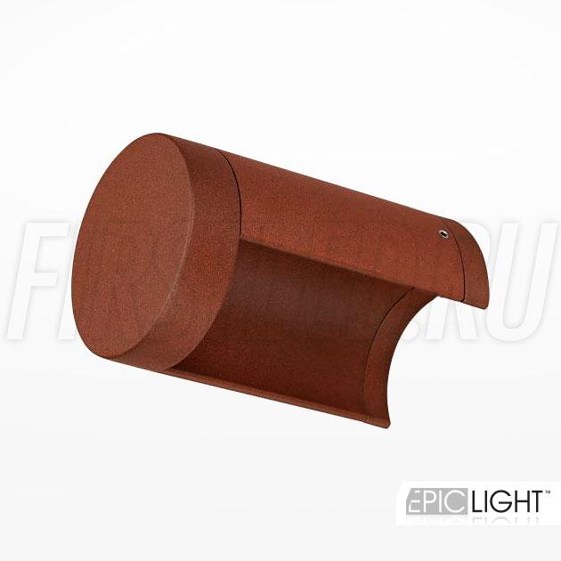 Настенный светодиодный светильник ROUNDER (коричневый)