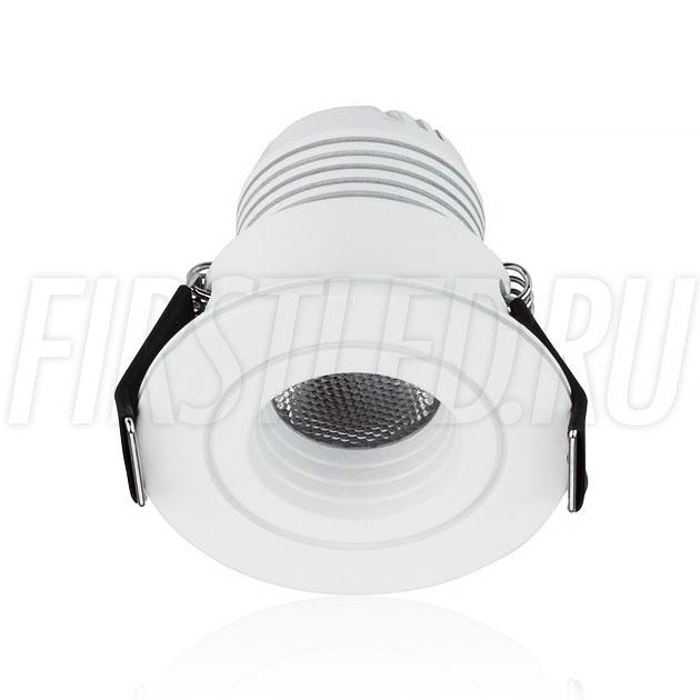 Встраиваемый мебельный светодиодный светильник SMOLUS 4.3