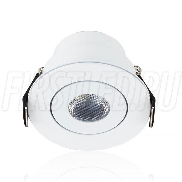 Встраиваемый мебельный светодиодный светильник SMOLUS 5.3