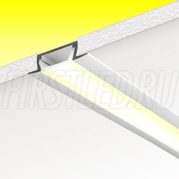 Встраиваемый алюминиевый профиль TALUM E22.6