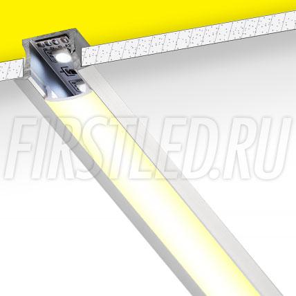 Встраиваемый алюминиевый профиль TALUM E25.15