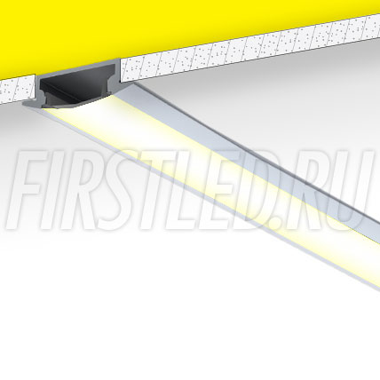 Встраиваемый алюминиевый профиль TALUM E30.8