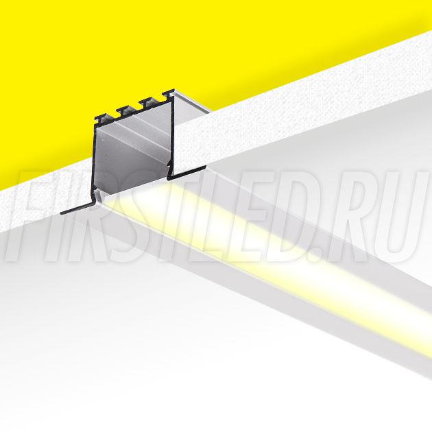Встраиваемый алюминиевый профиль TALUM E46.25