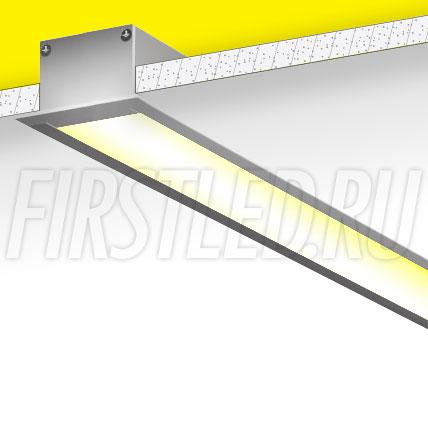 Встраиваемый алюминиевый профиль TALUM E49.32