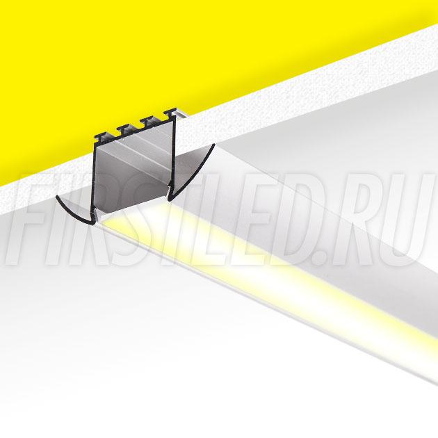 Встраиваемый алюминиевый профиль TALUM E51.25